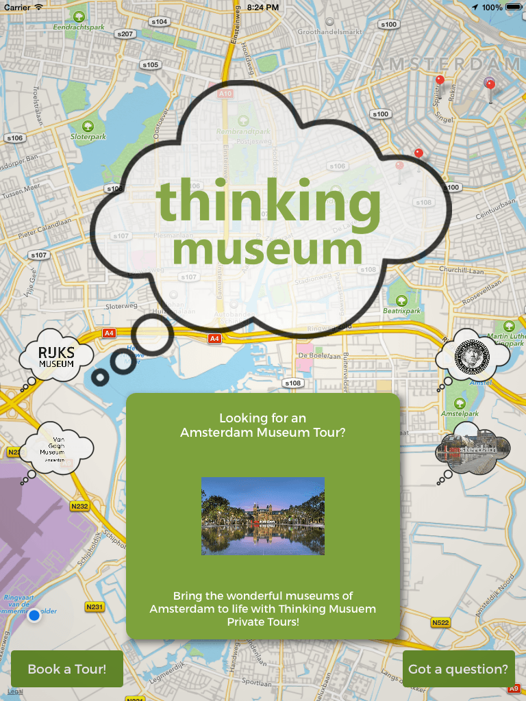 Thinking Museum Tours Amsterdam App